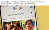 Bánh Gạo tự tìm kiếm tên mình trên Google, phản ứng của Công Vinh - Thủy Tiên mới là điều bất ngờ