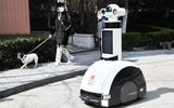 Tin thế giới - Thượng Hải dùng Robot phòng chống dịch bệnh thông minh tuần tra khu phố