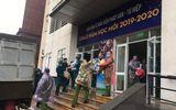 Bên trong tòa nhà sinh viên ở Pháp Vân được huy động thành khu cách ly tập trung