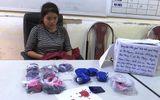 Bắt quả tang 1 phụ nữ vận chuyển hơn 11.000 viên ma túy tổng hợp