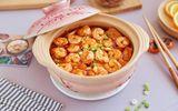 Ăn - Chơi - Chỉ 15 phút có ngay món đậu phụ rim tôm ngon bất ngờ cho bữa tối