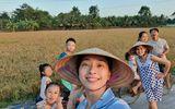 Giải trí - Muôn kiểu sao Việt về quê tránh dịch: Đả nữ Ngô Thanh Vân đi chăn vịt, H'Hen Niê ở nhà trông cháu