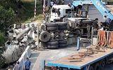 Tin tai nạn giao thông mới nhất ngày 3/4/2020:  Xe lao xuống vực sâu, tài xế tử vong trong cabin