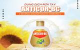 6000 chai nước rửa tay Anticor BC chuẩn Dược đã được tặng cho vùng cách ly bởi công ty Beauty Care Usa