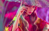 Tin tức giải trí - Hoàng Thùy Linh đưa tranh Hàng Trống vào MV mới, thể hiện hình ảnh hoàng hậu đầy quyền lực