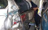 Tin trong nước - Tin tai nạn giao thông mới nhất ngày 6/42020: Ô tô 4 chỗ tông xe tải rồi cùng đâm sập quán nước
