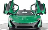 """""""Đứng hình"""" trước siêu xe McLaren P1 """"Fusion Green Pearl 3"""" độc nhất thế giới"""