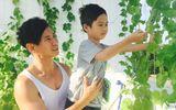 """Vợ chồng Lý Hải - Minh Hà có vườn rau xanh mướt """"khổng lồ"""" trên sân thượng"""