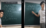Thầy giáo dạy Toán cáu gắt khi livestream vẫn được thả tim ầm ầm vì lý do này