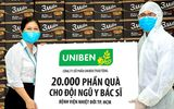 Uniben trao tặng 150.000 bữa ăn dinh dưỡng từ Mì 3 Miền và Nước trái cây Joco cho đội ngũ Y Bác sĩ các bệnh viện tuyến đầu