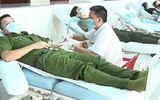 Hơn 1.200 cán bộ, chiến sĩ công an tại Thừa Thiên - Huế tham gia hiến máu
