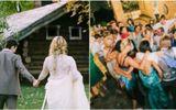 Chết khiếp phong tục hàng trăm khách mời nhổ nước bọt vào người cô dâu