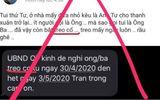 UBND quận 7 bác tin nhắn giả mạo lan truyền trên mạng xã hội