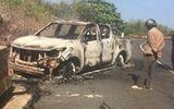 Tin tai nạn giao thông mới nhất ngày 5/5/2020: Thi thể biến dạng trong ôtô bị cháy rụi