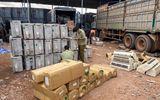 Bắt giữ gần 600 sản phẩm điện tử, điện lạnh nhập lậu từ biên giới Tây Nam