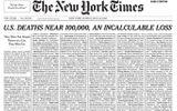 Dành trang nhất để viết tên nạn nhân tử vong do Covid-19, New York Times khiến độc giả không khỏi xót xa