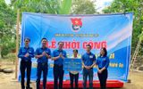"""Việc tốt quanh ta - Thành đoàn Hà Nội xây dựng """"Nhà nhân ái"""" ở tỉnh Nghệ An"""