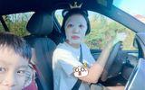 Tin tức giải trí - Tin tức giải trí mới nhất ngày 5/6/2020: Phì cười với ảnh Ốc Thanh Vân đắp mặt nạ khi chở con đi học