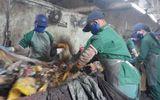Bàng hoàng phát hiện xác thai nhi trên băng chuyền xử lý rác thải của công ty Công Lý