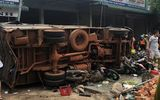Vụ xe tải lao vào chợ ở Đắk Nông: Xe mất phanh, tài xế âm tính với chất kích thích, không vi phạm nồng độ cồn