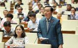 Bộ trưởng TN&MT Trần Hồng Hà giải trình trước Quốc hội về việc thu phí rác sinh hoạt theo kg