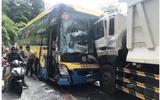 Hai xe khách và xe tải tông nhau kinh hoàng, đèo Bảo Lộc kẹt cứng nhiều giờ
