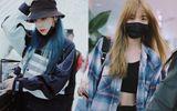 """8 mỹ nữ """"Sáng tạo doanh"""" ở sân bay: Nene khoe eo thon, Hy Lâm Na Y Cao tóc xanh đầy mộng ảo"""