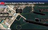 Ảnh vệ tinh hé lộ việc Triều Tiên có thể đang chế tạo tàu ngầm bí ẩn