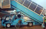 Ngã trên xe thang máy bay tại Tân Sơn Nhất, nữ hành khách tử vong