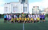 Giao hữu bóng đá giữa FC Đời sống & Pháp luật và Đại đội 1 - Tiểu đoàn Cảnh sát đặc nhiệm Hà Nội