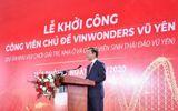 Vingroup khởi công dự án công viên chủ đề lớn nhất Việt Nam