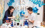Vợ chồng Cường đô La rạng rỡ trong tiệc sinh nhật Subeo, Đàm Thu Trang lộ ngoại hình mũm mĩm gây chú