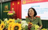 Nữ Thiếu tướng Công an đầu tiên Bùi Tuyết Minh thôi làm Giám đốc Công an tỉnh Kiên Giang