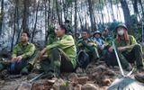 Cháy rừng ở Diễn Châu: Nỗ lực dập lửa suốt đêm