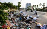 Hà Nội: Rác thải bủa vây con đường nghìn tỷ