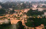 """Tin thế giới - Chùm ảnh lưu vực sông Dương Tử """"căng mình"""" trong dòng lũ đục ngầu"""
