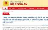 Tin trong nước - Khám xét khẩn cấp đối với hai cán bộ UBND TP Hà Nội