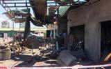 Tin trong nước - Vụ nổ nồi hơi làm bánh đa ở Nghệ An: Thổi bay mái tôn ki ốt, 2 chị em ruột thương vong