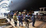 """Tàu ngầm hạt nhân chiến lược mang tên lửa """"nguy hiểm nhất thế giới"""" của Nga đã được hạ thủy"""