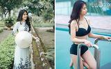 """Vẻ đẹp của thí sinh ít tuổi nhất Hoa hậu Việt Nam 2020 khiến """"các chị"""" cùng thi phải dè chừng"""