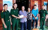 Đoàn Kinh tế-Quốc phòng 379 tặng quà các gia đình thương binh liệt sĩ