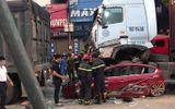 Tin trong nước - Vụ xe container đè ô tô con 3 người chết ở Hà Nội: Cả 3 phương tiện đều còn hạn đăng kiểm