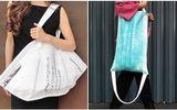 """Túi hình khẩu trang khổng lồ độc đáo, """"làm mưa làm gió"""" trên mạng xã hội"""