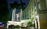 Kinh doanh - Khách sạn 5 sao ở Hà Nội im ắng, lác đác vài phòng sáng đèn giữa mùa dịch Covid-19