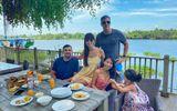 Giải trí - Siêu mẫu Hà Anh tránh dịch cùng gia đình ở biệt thự riêng sang chảnh