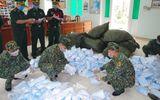 Tin trong nước - Thu giữ 90.000 chiếc khẩu trang y tế vận chuyển trái phép qua biên giới