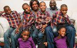"""Gia đình - Tình yêu - Bà mẹ sinh 6 khiến cả nước Mỹ ngỡ ngàng, ước """"3 đầu 6 tay"""" để chăm sóc con"""