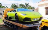 """An ninh - Hình sự - Vì sao 2 """"siêu xe"""" Lamborghini, Merceders bị tạm giữ ở Quảng Bình?"""