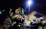 """An ninh - Hình sự - Hà Tĩnh: Phát hiện 2 nhóm đối tượng khai thác vàng """"trộm"""" trong đêm"""