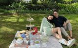 Chuyện làng sao - Loạt ảnh tình tứ của Hoa hậu Hương Giang với Matt Liu-CEO giàu có người Singapore